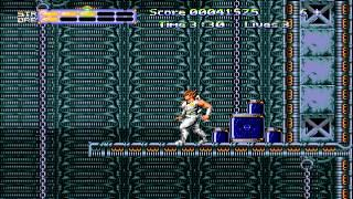 1990 Strider Returns: Journey From Darkness SEGA Genesis Old School retro game playthrough