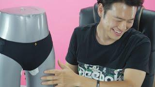 getlinkyoutube.com-Korean Guys Meet Tampons