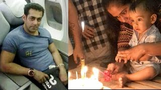 Salman Khan Took 22-hour NON STOP Flight To Celebrate Nephew Ahil's 1st Birthday