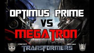getlinkyoutube.com-Transformers The Game - Optimus Prime vs  Megatron