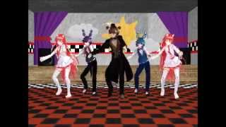 getlinkyoutube.com-[MMD x FNAF] Gentleman [MOTION DL!!]