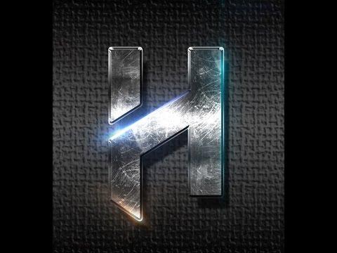 Tutorial: Metallic text and flares photoshop   HAD3Sdesigns tutorial