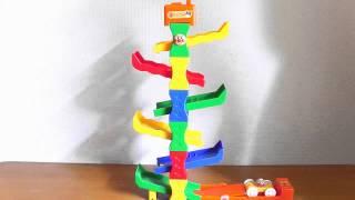 getlinkyoutube.com-Anpanman Kururin Tower★アンパンマンくるりんタワー アンパンマン  ばいきんまん号でやってみた!