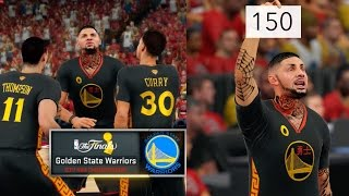 getlinkyoutube.com-NBA 2K16 MyCAREER NBA FINALS Part 2 - 150 Points Challenge! 2K TROLLING AGAIN!!!!