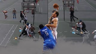 GLITCHY CONTACT DUNK TO FAVORITE ONE!   INSANE POSTER ANIMATIONS   NBA 2K18 PLAYGROUND