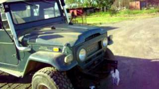 getlinkyoutube.com-landcruiser fj45 350 chev twin turbo 4x4