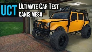 getlinkyoutube.com-GTA 5 - Ultimate Car Test: Mesa Offroad ( Merryweather Security Jeep )