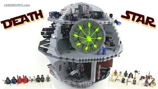 Older LEGO Star Wars 10188 DEATH STAR reviewed!  3800+ pieces, 11+ lbs.!