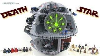 getlinkyoutube.com-Older LEGO Star Wars 10188 DEATH STAR reviewed!  3800+ pieces, 11+ lbs.!