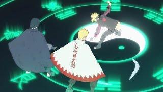 getlinkyoutube.com-Boruto's Byakugan 8 Trigrams vs Hokage Naruto & Sasuke - NARUTO SHIPPUDEN Ultimate Ninja STORM 4