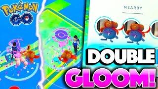 getlinkyoutube.com-DOUBLE GLOOM WITH NEW TRACKING SYSTEM! Pokemon Go QUADRUPLE XP EVOLUTIONS!