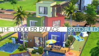 getlinkyoutube.com-The Sims 4 Speed Build - THE TODDLER PALACE
