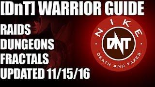 getlinkyoutube.com-[DnT] Warrior PvE Build Guide Updated 11/13/16