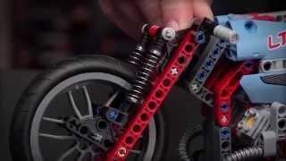 getlinkyoutube.com-Street Motorcycle - LEGO Technic - Designer Video 42036