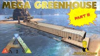 getlinkyoutube.com-ARK MEGA GREENHOUSE PRIMITIVE PLUS - PART III