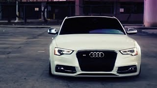 getlinkyoutube.com-Audi S5 Bagged on 20'' Vossen CVT Directional Wheels | Rims
