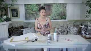 getlinkyoutube.com-Arts & Crafts Tutorial: Wallpaper Art