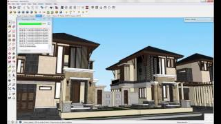 getlinkyoutube.com-Setting Camera dan Environment Vray Sketchup