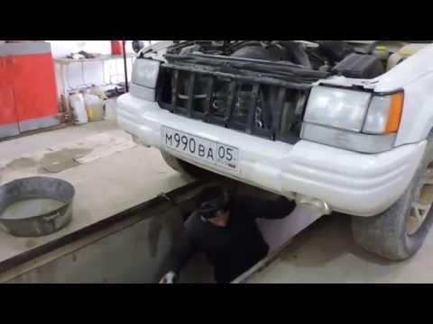 Часть 1 - снятие мотора