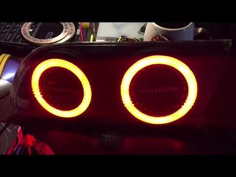 Светодиодные задние фонари 215 калдина рестайл (габарит+стоп)