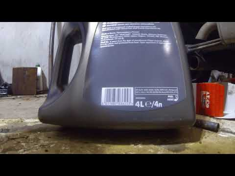 Замена масла смарт 450 с моторо 0.6 турбобензин