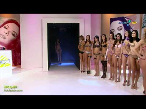Desfile de calcinhas no Super pop
