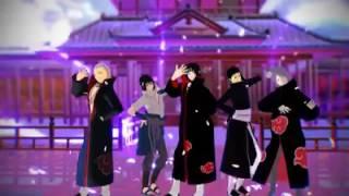 Uchiha Akatsuki Dance // Naruto MMD