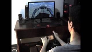 getlinkyoutube.com-Thrustmaster T.Flight Hotas X - DCS WORLD / SU- 27