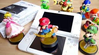 getlinkyoutube.com-これでamiiboが本領発揮!6月11日発売 NEW 3DSLL パールホワイト レビュー!旧版と比較!定価¥18,800 ニンテンドー