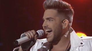 getlinkyoutube.com-'American Idol': Jennifer Lopez Tears Up Over Emotional Performances, Praises Adam Lambert Return