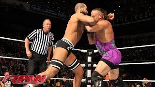 Rob Van Dam vs. Cesaro: Raw 21-04-2014