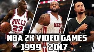 getlinkyoutube.com-History of NBA 2K Video Games - (1999-2017)