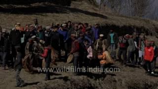 getlinkyoutube.com-Procession of Faguli Mela reaches Latoda temple in Himachal