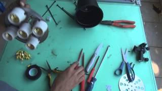 how to make - Como fazer um refletor de lâmpada fria