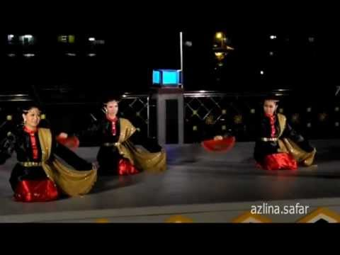 Brunei Traditional Dance - Temaruk and Alai Siakap