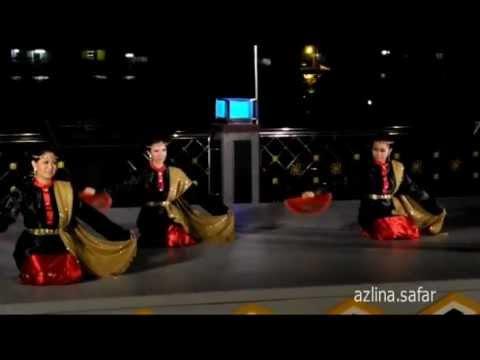 Brunei Traditional Dance - Temaruk and Alai Siakap