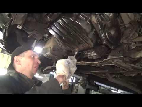 Chrysler Grand Voyager 3,3 1999 г. Как устранить течь масла с коробки