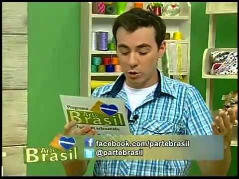 Programa Arte Brasil - 06/03/2014 - Jogo Americano de Coruja - Renata Silva