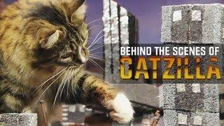 getlinkyoutube.com-Behind the Scenes of Catzilla!