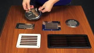Металлические вентиляционные решетки