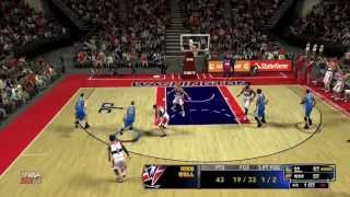 getlinkyoutube.com-NBA 2k14- Crazy Final Seconds