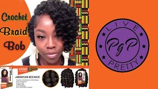 getlinkyoutube.com-Crochet Braid Bob| Jamaican Bounce