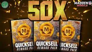 getlinkyoutube.com-50 LARGE QUICKSELLS! MADDEN MOBILE LARGE QUICKSELL PACK OPENING!