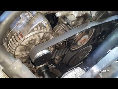 Как устранить писк ремня генератора на Opel Frontera B 2.2d X22DTH