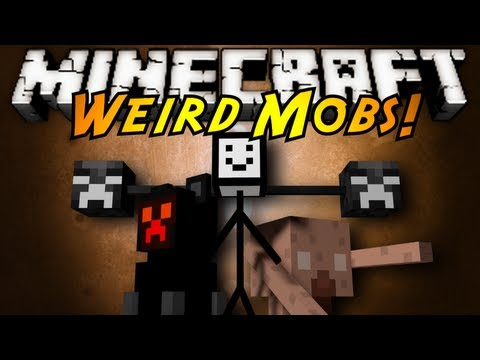Minecraft Mod Showcase : WEIRD MOBS!