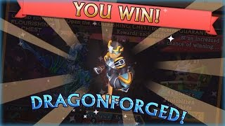 """getlinkyoutube.com-Knights and Dragons - """"DOUBLE DRAGONFORGED?!"""" Flourishing Chest Opening! [HD]"""