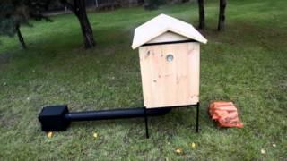 getlinkyoutube.com-Piękna drewniana Wędzarnia Ogrodowa  Garden Smokehouse