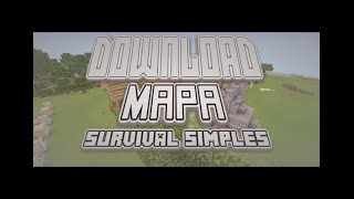 getlinkyoutube.com-MCPE 13.0 MAPA SURVIVAL SIMPLES DOWNLOAD