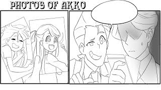[Little Witch Academia Comic Dub] Photos of Akko