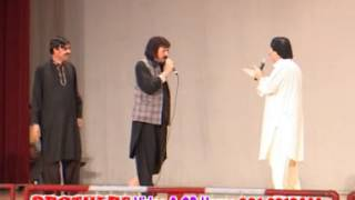 getlinkyoutube.com-Pashto Song with Dailog Ismail Shahid and Muhammad Hussain Swati Stage Show Comedy